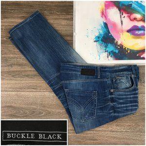 Buckle Black 7 Fit Men's Straight Leg Blue Denim